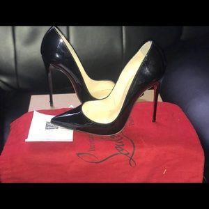 Christian Louboutin So Kate Black heels